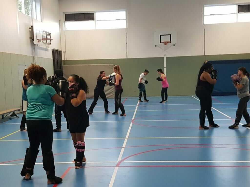 Kickboksen voor vrouwen in Leiden