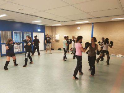 Kickboksen voor vrouwen in Ridderkerk
