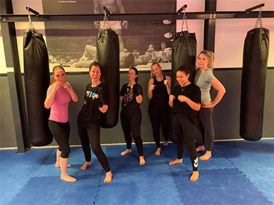 Kickboksen voor vrouwen in Tilburg