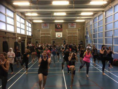 Kickboksen voor vrouwen in Gouda