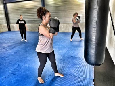 Kickboksen voor vrouwen in Lelystad